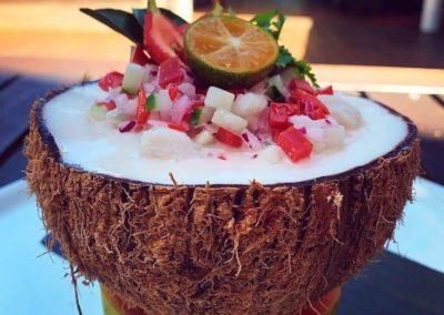 Coconut Delight on Taveuni, Fiji Islands
