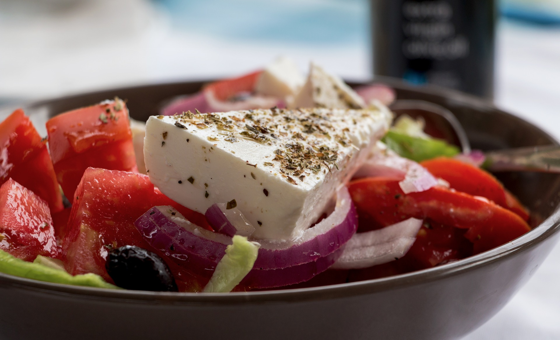 Greek Salad at Coconut Grove Beachfront Cottages Fiji