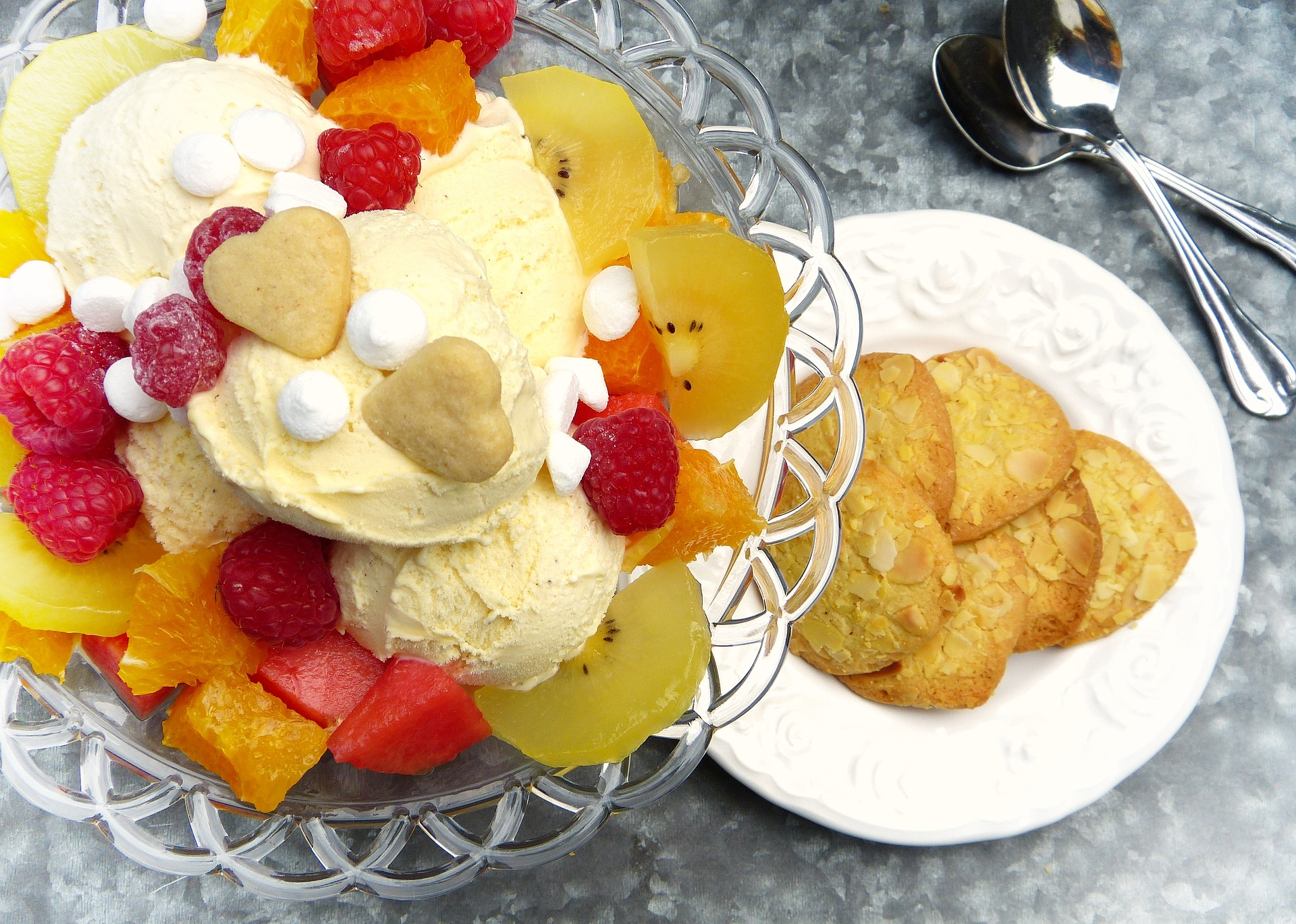 Ice Cream and Desserts at Coconut Grove Restaurant, Fiji