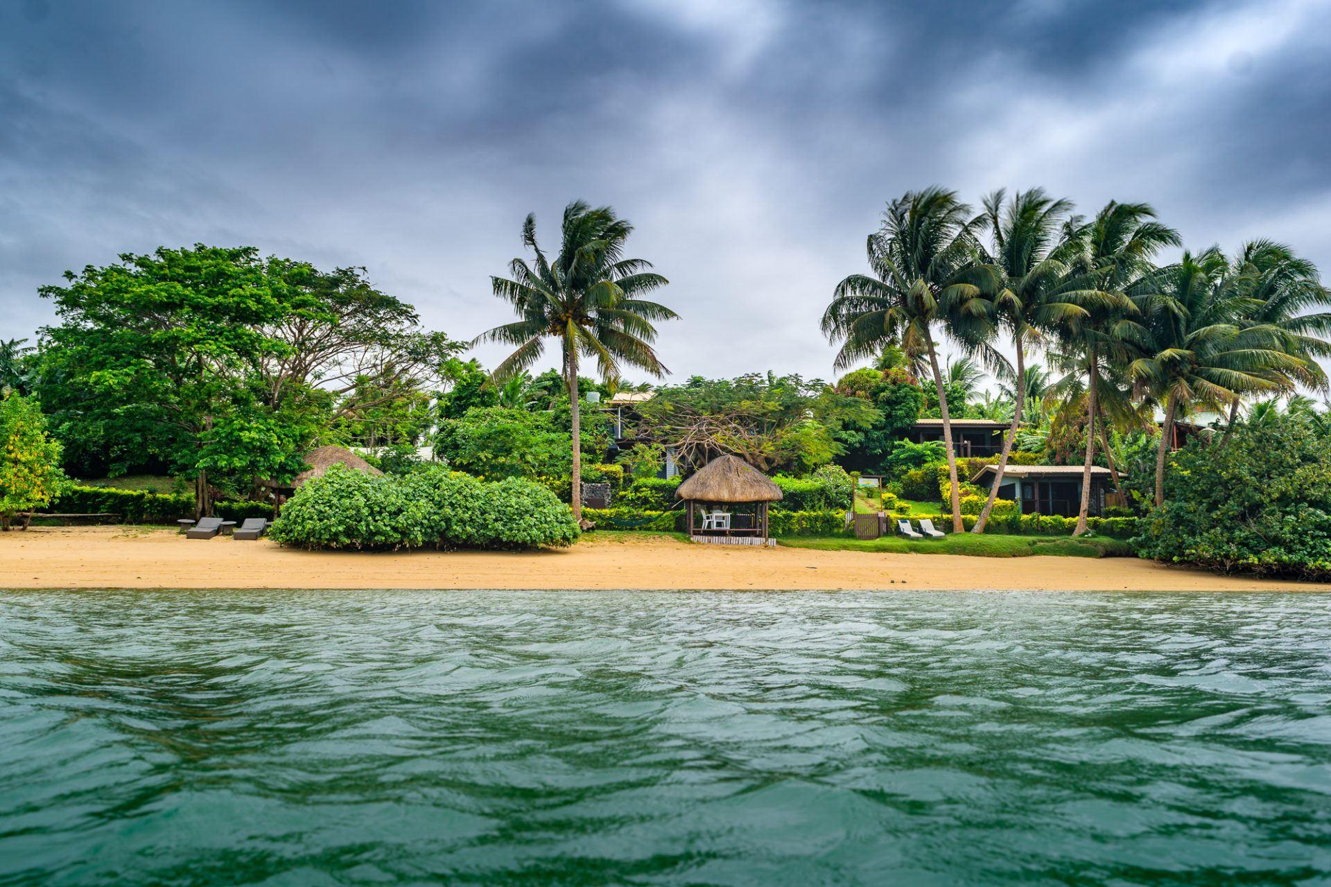 Coconut Grove, Taveuni, Fiji ocean view