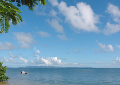 Peace and tranquility in Fiji