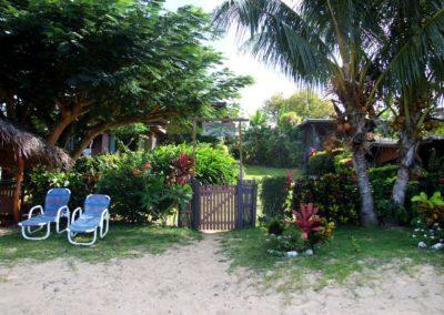 White Sandy Beach at Coconut Grove Fiji