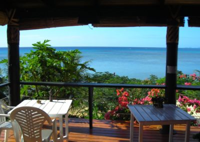 Beachfront Dining at Coconut Grove Fiji
