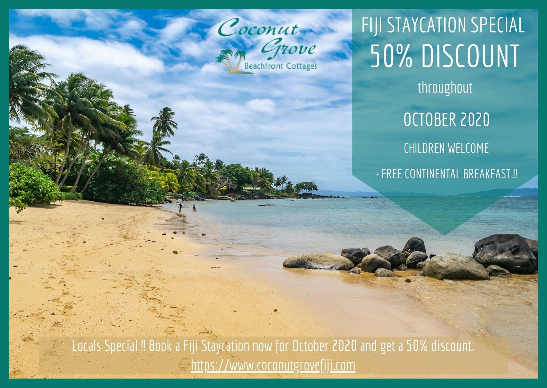 Fiji Vacation Special October 2020