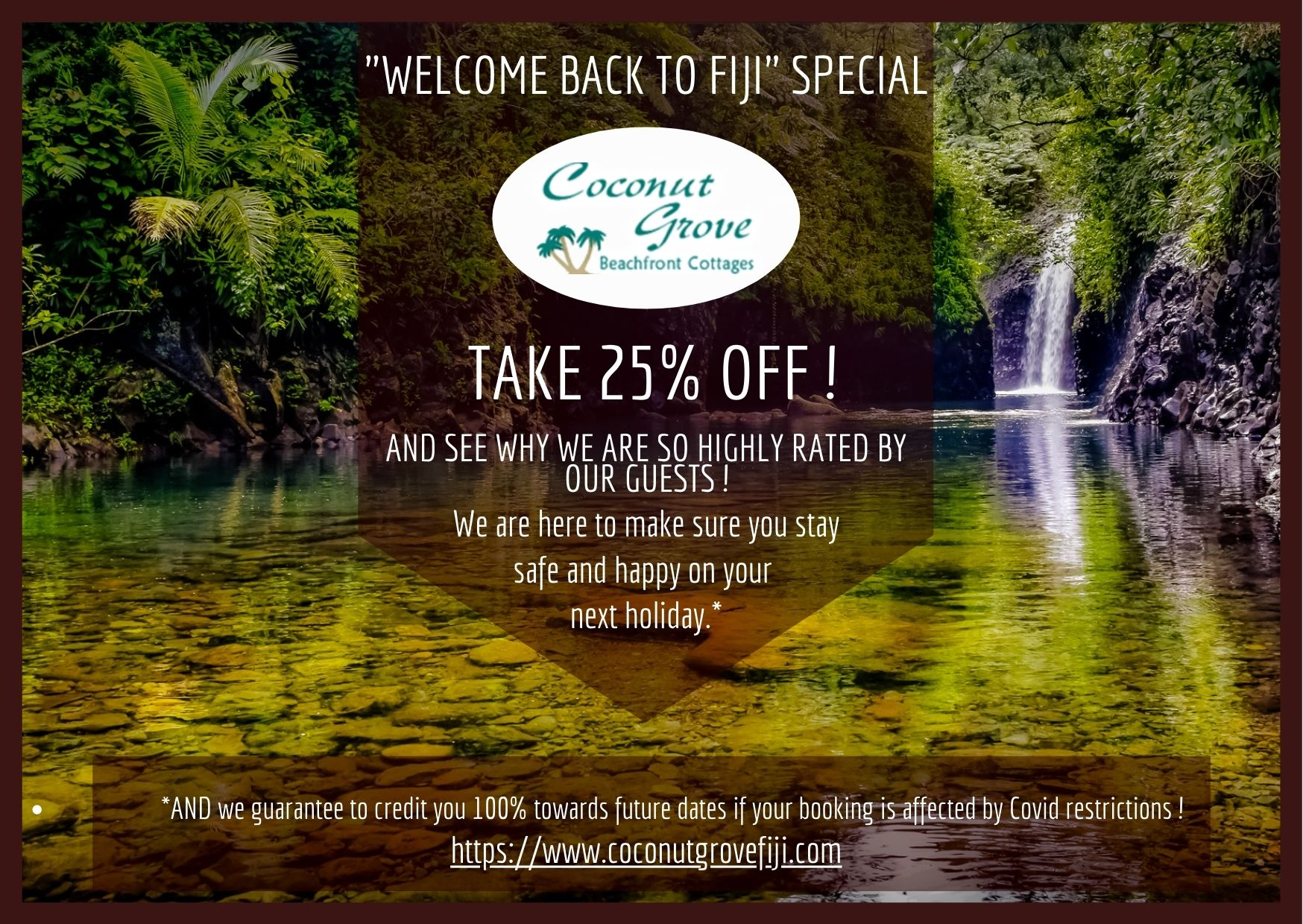 Welcome back to Fiji Special Offer